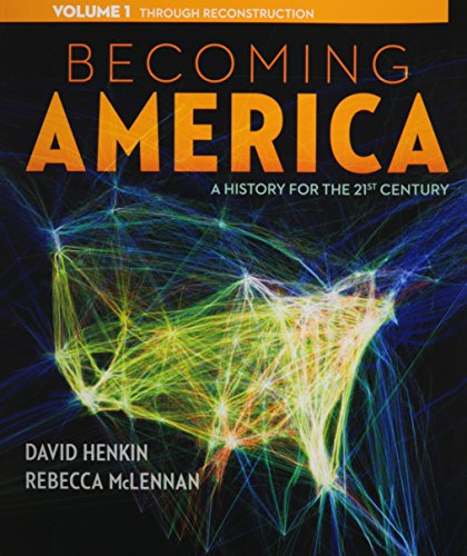 9780077275600: Becoming America, Volume I