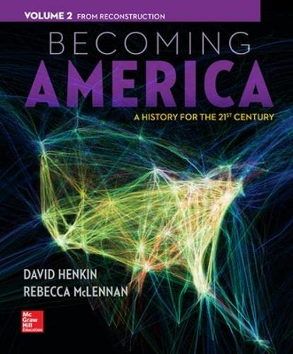 9780077275617: Becoming America, Volume II: From Reconstruction
