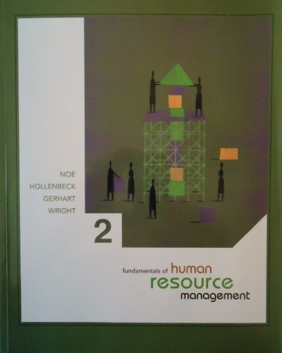 9780077275945: FUNDAMENTALS OF HUMAN RESOURCE MANAGEMENT (2ND EDITION)