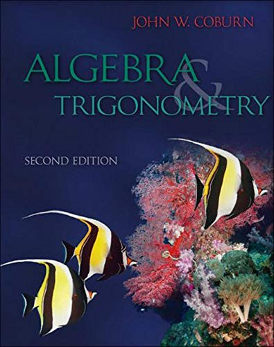 Algebra And Trigonometry: John Coburn