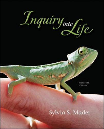 9780077280109: Inquiry into Life