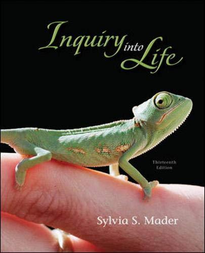 9780077280109: Inquiry into Life
