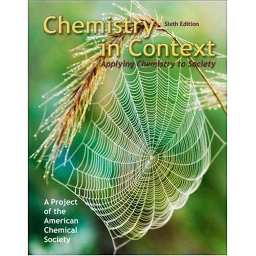 9780077280963: Chemistry in Context: Applying Chemistry to Society (Custom Edition for Brooklyn College)