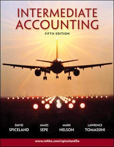 9780077282073: Intermediate Accounting, Fifth Edition