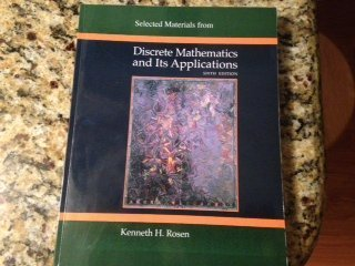 9780077283735: Selected Materials from Discrete Mathematics and Its Applications Sixth Edition