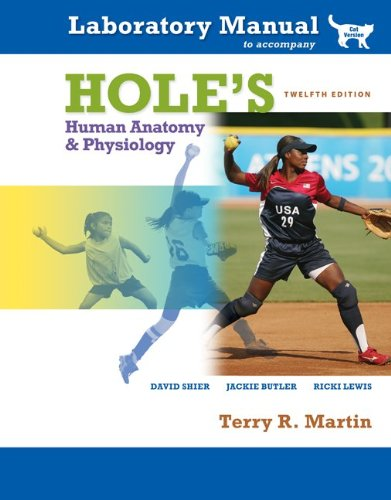 9780077283773: Hole's Human Anatomy & Physiology Laboratory Manual, Cat Version