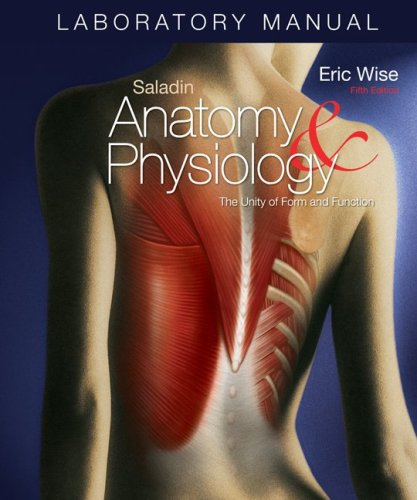 9780077283797: Laboratory Manual Anatomy & Physiology: The Unity of Form and Function