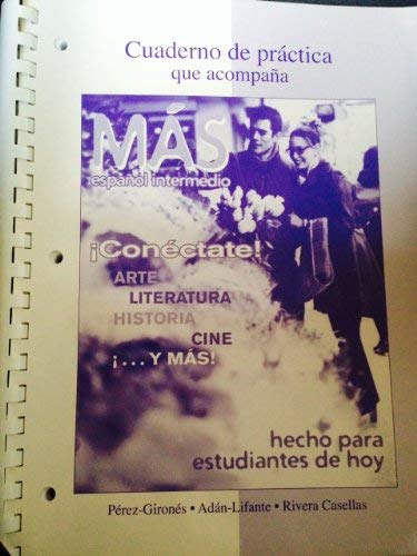 9780077287436: Cuaderno de Practica (Mas- Espanol Intermedio)