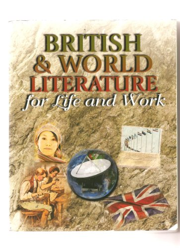 9780077288327: British & World Literature for Life and Work
