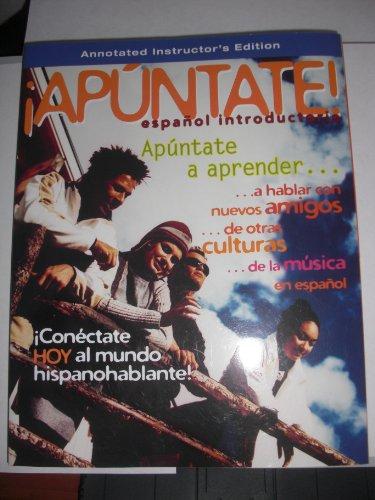 9780077289744: Apuntate (espanol introductorio)