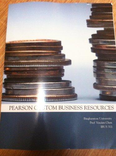 Introduction to International Business--Custom Edition for Binghamton: Charles W. L.