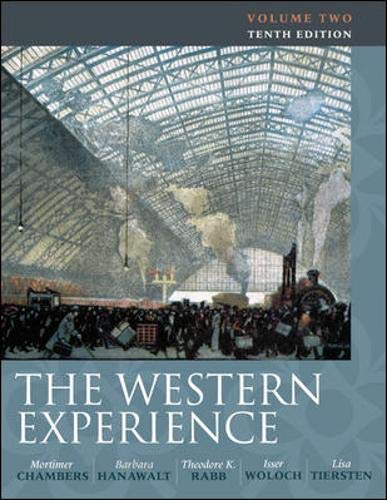 9780077291167: The Western Experience Volume II: 2