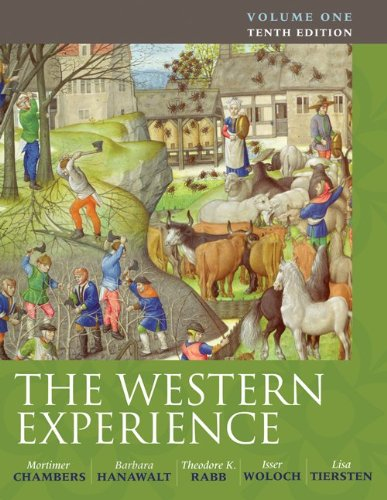 9780077291174: The Western Experience, Volume 1
