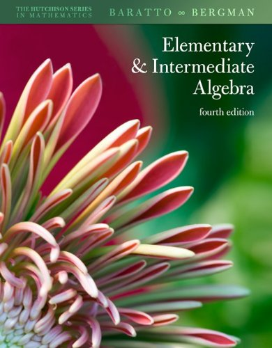9780077292188: Student Solutions Manual Elementary & Intermediate Algebra