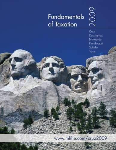 9780077292652: Fundamentals of Taxation 2009 with Taxation Preparation Software