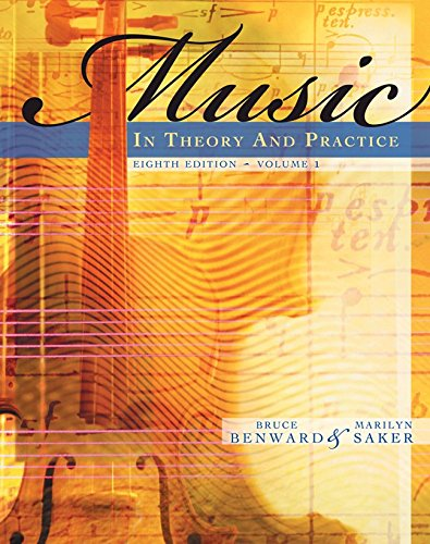 9780077294236: Workbook to accompany Music in Theory and Practice, Volume 1 with Finale Discount Sticker