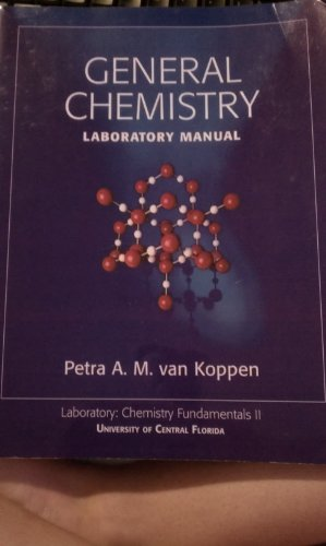 9780077294557: General Chemistry Laboratory Manual, Laboratory: Chemistry Fundamentals II (University of Central Florida)