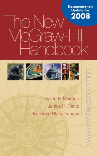 New McGraw-Hill Handbook (soft) Update with Catalyst: Elaine Maimon, Janice
