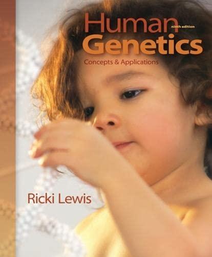 9780077295479: Human Genetics