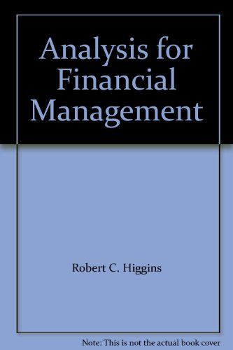 9780077296605: Analysis for Financial Management
