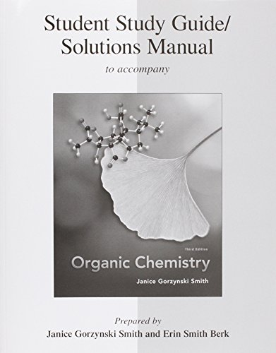 9780077296650: Study Guide/Solutions Manual for Organic Chemistry