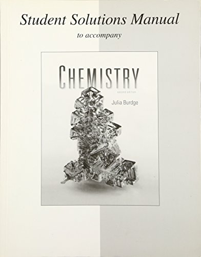 9780077296834: Student Solutions Manual to accompany Chemistry