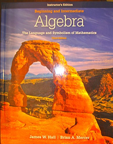 9780077296889: Beginning and Intermediate Algebra: The Language and Symbolism of Mathematics
