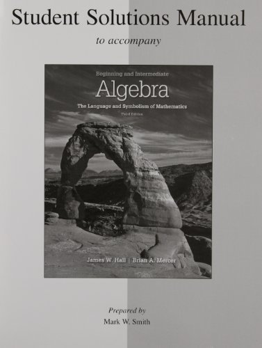 9780077296926: Beginning and Intermediate Algebra:: The Language and Symbolism of Mathematics