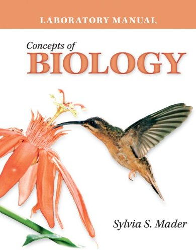 9780077297336: Lab Manual Concepts of Biology