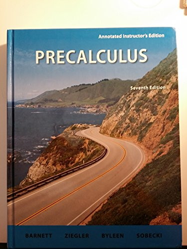 9780077297497: Precalculus, Seventh Edition, Annotated Instructor's Edition