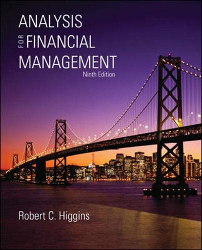 9780077297657: Analysis for Financial Management with S&P bind-in card (McGraw-Hill/Irwin Series in Finance, Insurance and Real Estate)