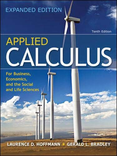 9780077297886: Applied Calculus for Business, Economics, and the Social and Life Sciences, Expanded Edition