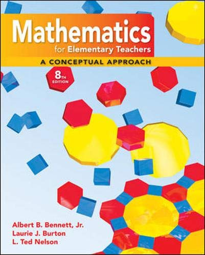9780077297930: Math for Elementary Teachers: A Conceptual Approach with Manipulative Kit Mathematics for Elementary Teachers