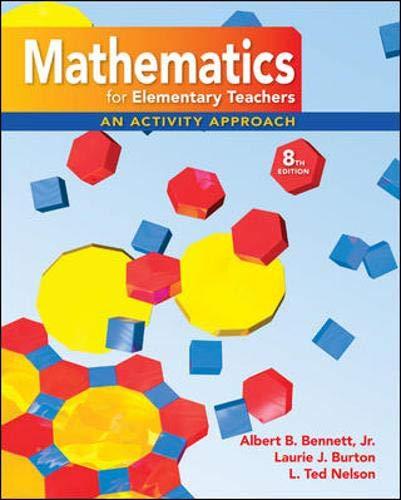9780077297947: Math for Elementary Teachers: An Activity Approach with Manipulative Kit Mathematics for Elementary Teachers