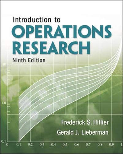 9780077298340: Introduction to Operations Research with Student Access Card