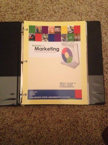 9780077298845: Essentials of Marketing (A marketing Strategy Planning Approach)