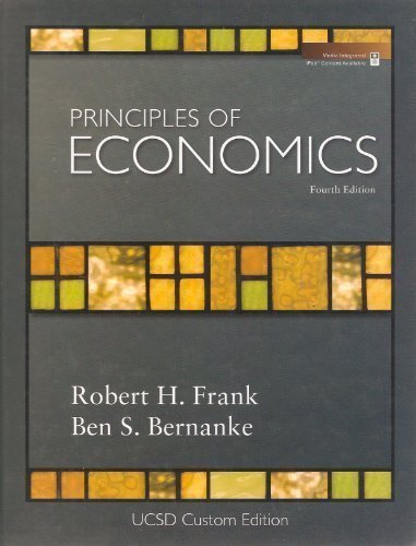 9780077299316: Principles of Economics UCSD Custom Edition