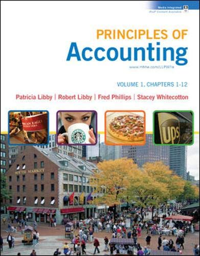 9780077300418: Principles of Accounting Volume 1 Ch 1-12 with Annual Report