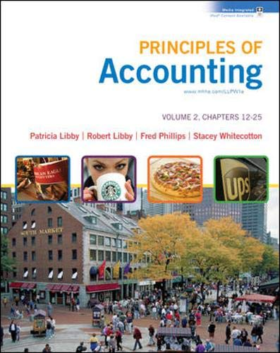 9780077300432: Principles of Accounting Volume 2 Ch 12-25 with Annual Report