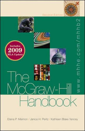9780077300746: The McGraw-Hill Handbook 2009 MLA Update (paperback)