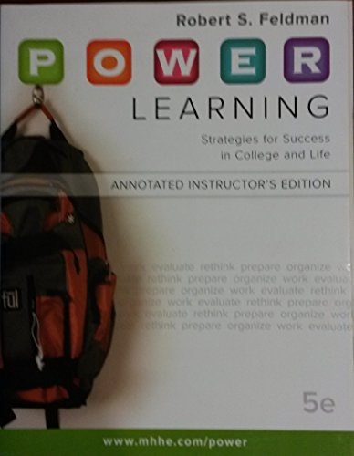 9780077301248: Power-learning AIE (STRATEGIES FOR SUCCESS IN COLLEGE AND LIFE)