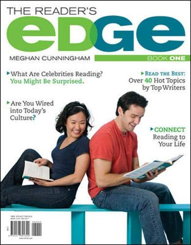 The Reader's Edge, Book I: Cunningham, Meghan