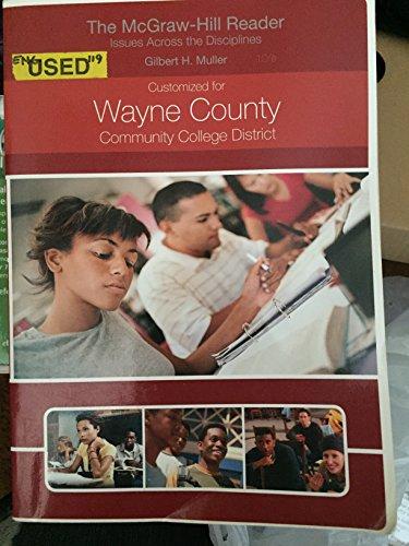 The McGraw-Hill Reader (Wayne Community College Custom: Gilbert H. Muller