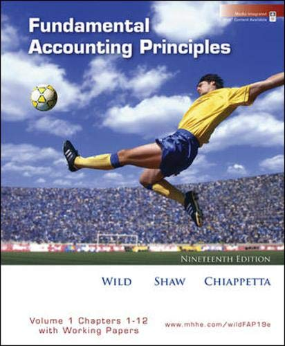 9780077303242: MP Fundamental Accounting Principles Volume 1 (Ch 1-12) Softcover with Working Papers and Best Buy Annual Report