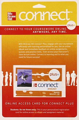 9780077303624: CONNECT PLUS Access Card Biology