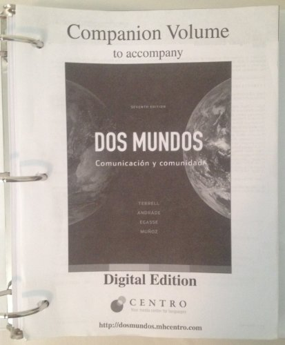 9780077304706: Dos Mundos