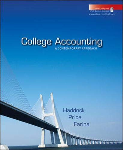 9780077305079: College Accounting: A Contemporary Approach with Home Depot 2006 Annual Report