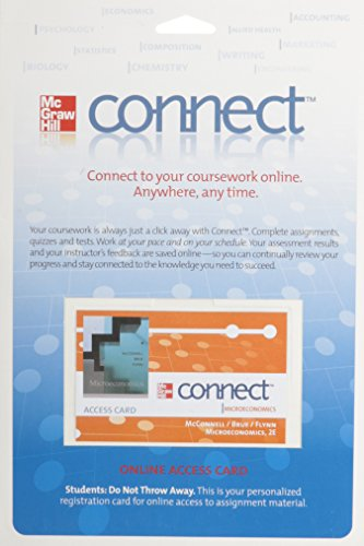 9780077306199: Connect™ Access Card for Microeconomics (McGraw-Hill Connect)