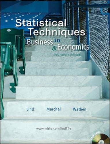 9780077309428: Statistical Techniques in Business and Economics with Student CD
