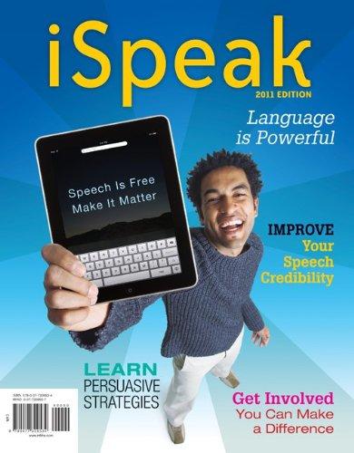 9780077309534: iSpeak: Public Speaking for Contemporary Life: 2011 Edition